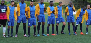 Victoire senior A face au racing